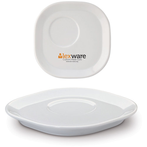 Saucer Satellite square, White