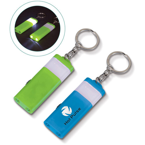 Sleutelhanger Light-Up, Licht Groen