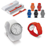 Silicone watch Flash, White
