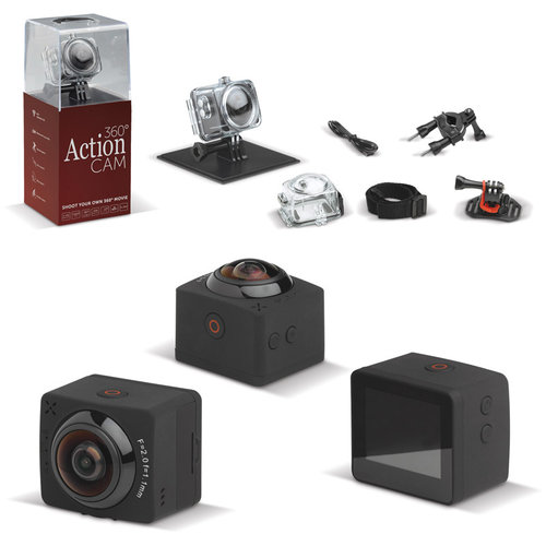360 degree cam, Black