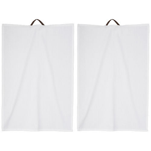 Longwood 2-piece kitchen towel set, White
