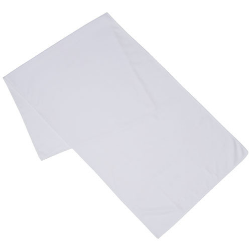 Alpha fitness towel, White